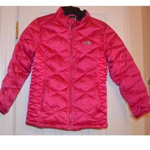 The North Face Girls Coat Pink Size L 14/16